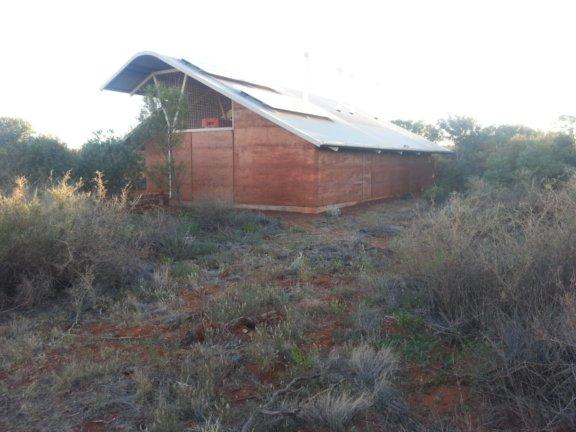 rammed earth dwelling kata juta