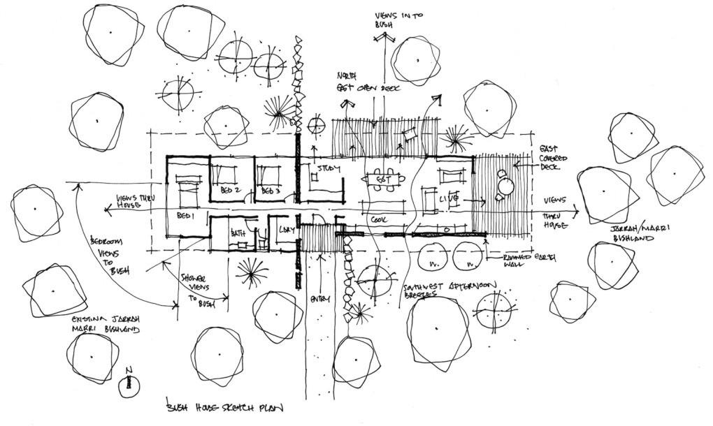 Rammed earth bush house | Earth Dwellings